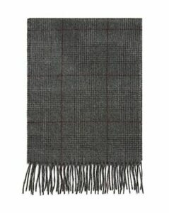The Men's Store at Bloomingdale's Glen Plaid Cashmere Scarf - 100% Exclusive