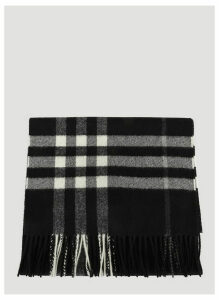 Burberry Cashmere Scarf in Black size One Size
