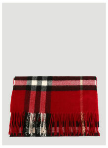 Burberry Cashmere Scarf in Red size One Size