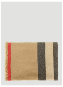 Burberry Wool Scarf in Beige size One Size