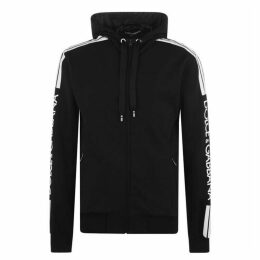 Dolce and Gabbana Taped Zip Hoodie