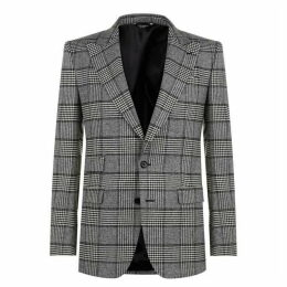 Dolce and Gabbana Houndstooth Blazer