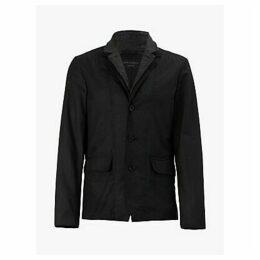 AllSaints Athol Double Layer Blazer Jacket, Black