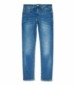 Bright Blue Skinny Stretch Jeans New Look