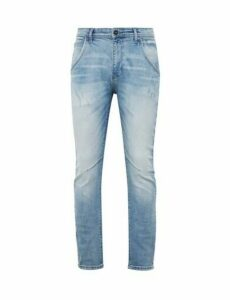 Mens Organic Blue Ninety North Carter Tapered Fit Jeans, Blue
