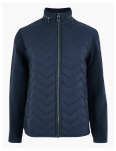 Blue Harbour Fleece Quilted Jacket