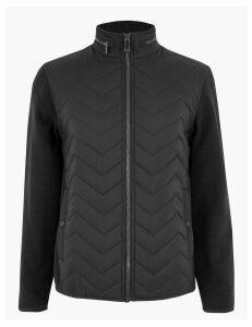 Blue Harbour Fleece Quilted Jacket