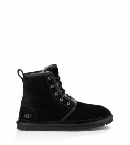 UGG Men's Harkley Suede Boot in Black, Size 13