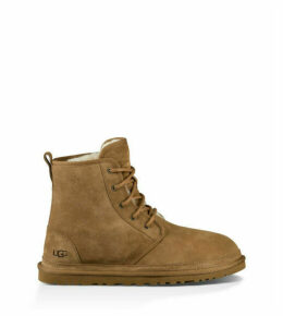 UGG Men's Harkley Suede Boot in Chestnut, Size 5