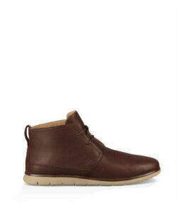 UGG Men's Freamon Waterproof Chukka Boot in Grizzly, Size 13, Leather
