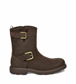 UGG Men's Biltmore Moto Boot in Stout, Size 7, Leather