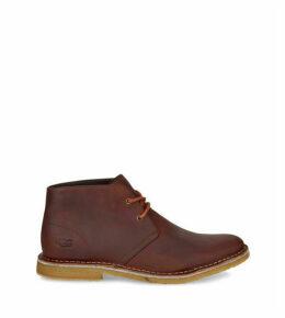 UGG Men's Groveland Chukka Boot in Gingerbread Brown, Size 10