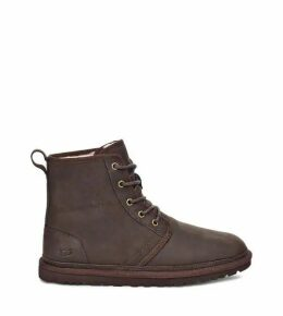 UGG Men's Harkley Leather Boot in Stout, Size 11, Suede