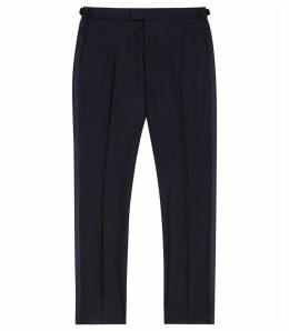 Reiss Knightsbridge - Tuxedo Trousers in Black, Mens, Size 38