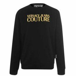 Versace Jeans Couture Versace Gold Logo Sweater