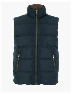 M&S Collection Padded Gilet