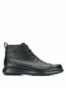 Giorgio Armani lace-up boots - Black
