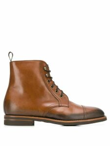 Scarosso Paolo Caramello lace-up boots - Brown