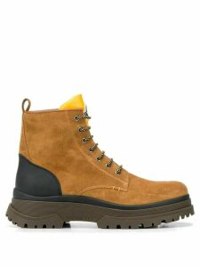 Moncler Ulysse lace-up boots - Brown