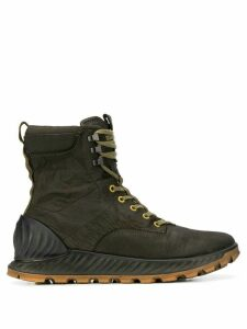 Stone Island lace-up ankle boots - Green