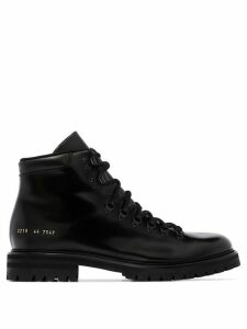 Common Projects ankle hiking boots - Black