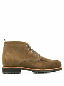 Zespa ankle lace-up boots - Green