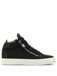 Giuseppe Zanotti Kriss ribbed sneakers - Black