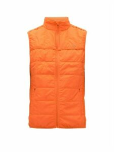 Calvin Klein Performance - Quilted Technical Gilet - Mens - Orange