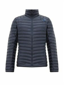 Norrona - Lofoten Quilted Down Jacket - Mens - Navy