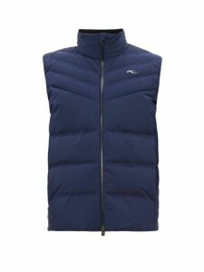 Kjus - Corviglia Padded Down Vest - Mens - Navy