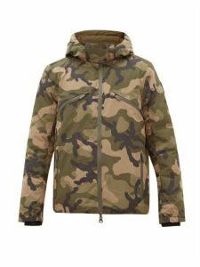 Nobis - Oliver Reversible Down Filled Hooded Jacket - Mens - Khaki