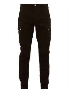 Amiri - Logo Appliqué Slim Leg Jeans - Mens - Black