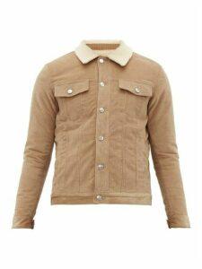 Éditions M.r - Beaumarchais Cotton Corduroy Jacket - Mens - Beige