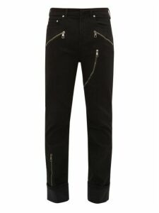Neil Barrett - Multi Zip Slim Leg Jeans - Mens - Black