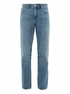 Burberry - Straight Leg Washed Jeans - Mens - Denim