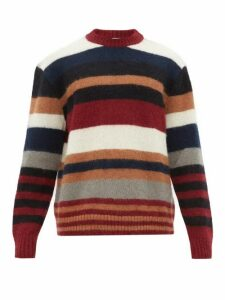Raey - Striped Wool Blend Sweater - Mens - Multi