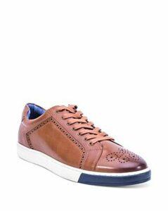 Robert Graham Men's Gettys Leather Sneakers