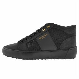 Android Homme Prop Mid GEO Suede Trainers Navy