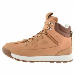 Lacoste Urban Breaker Boots Brown