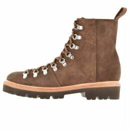 Grenson Brady Peat Boots Brown