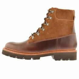 Grenson Rutherford Boots Brown