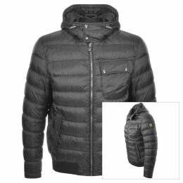 Belstaff Streamline Down Jacket Grey