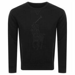 Ralph Lauren Crew Neck Sweatshirt Black
