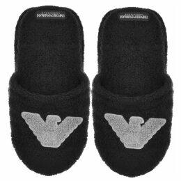 Emporio Armani Lounge Slippers Black