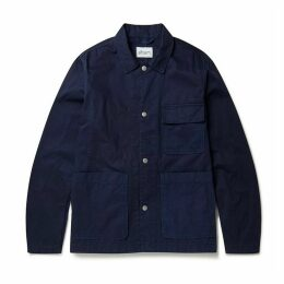 Albam Clothing - Aw19 Gatton Work Jacket Navy