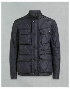 Belstaff COURSE QUILTED JACKET navy UK 34 /