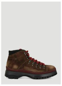 Prada Brixxen boots in Brown size UK - 10