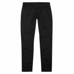 Emporio Armani Black Slim-leg Jeans