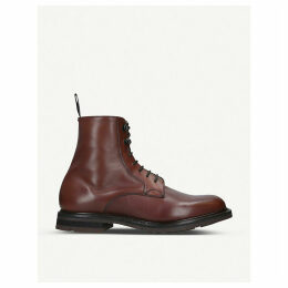Wootton leather lace-up boots