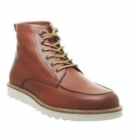 Office Bowen Hiker Boot RED LEATHER